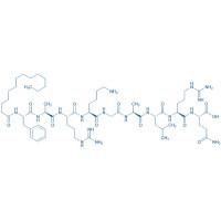 Myristoyl-Phe-Ala-Arg-Lys-Gly-Ala-Leu-Arg-Gln-OH trifluoroacetate salt
