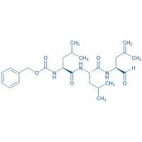 Z-Leu-Leu-4,5-dehydro-Leu-aldehyde
