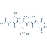 Ac-Leu-Glu-Val-Asp-aldehyde (pseudo acid)