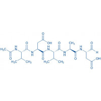 Ac-Val-Asp-Val-Ala-Asp-aldehyde (pseudo acid)