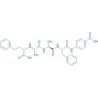 N-[(RS)-1-Carboxy-3-phenyl-propyl]-Ala-Ala-Phe-4-Abz-OH trifluoroacetate salt