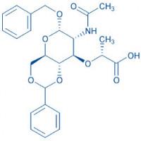 Ac--benzyl-4,6-O-benzylidene-muramic acid