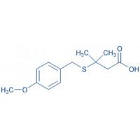 3-(4-Methoxy-benzylsulfanyl)-3-methyl-butyric acid