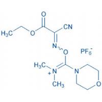 COMU 1-[1-(Cyano-2-ethoxy-2-oxoethylideneaminooxy)-dimethylamino-morpholino]-uronium hexafluorophosphate
