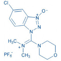 HDMC N-[(5-Chloro-1H-benzotriazol-1-yl)-dimethylamino-morpholino]-uronium hexafluorophosphate N-oxide
