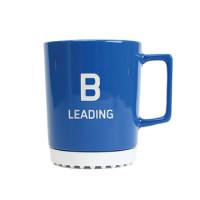 Bachem mug large, blue, B leading