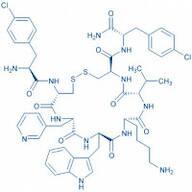 H-p-Chloro-Phe-D-Cys--(3-pyridyl)-Ala-D-Trp-Lys-Val-Cys-p-chloro-Phe-NH trifluoroacetate salt(Disulfide bond)