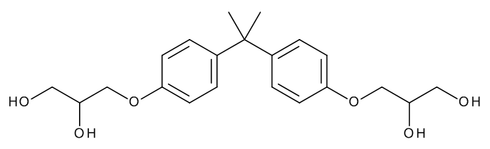 Bisphenol A-bis(2,3-dihydroxypropyl) ether