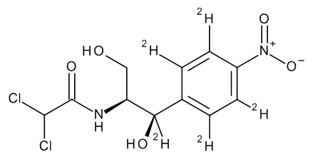 Erythro-Chloramphenicol D5 (ring D4, benzyl D) 100 µg/mL in Acetonitrile