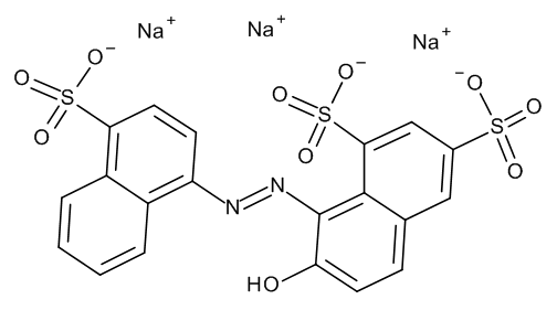 Ponceau 4RC (E124) 100 µg/mL in Acetonitrile:Water