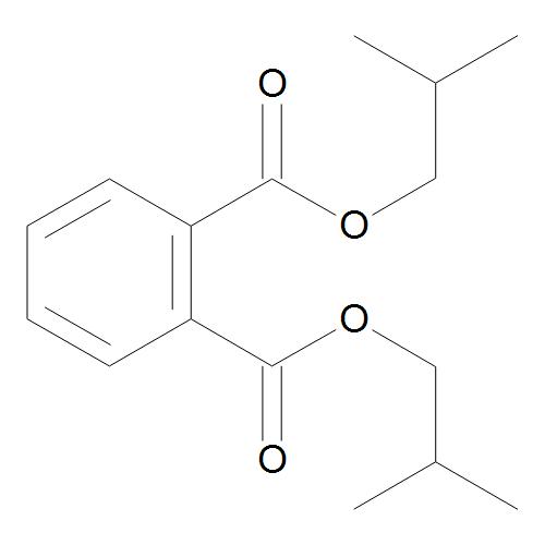 Phthalic acid, bis-isobutyl ester 10 µg/mL in Cyclohexane