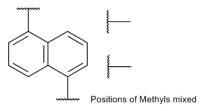 Dimethylnaphthalene (technical) 10 µg/mL in Cyclohexane