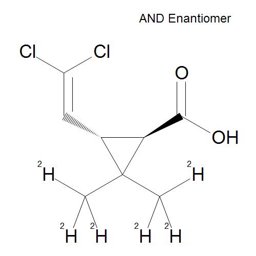 trans-Permethrinic acid D6 (dimethyl D6) 100 µg/mL in Acetone
