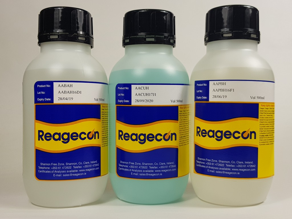 Reagecon Cobalt Standard for Atomic Absorption (AAS) 1000 µg/mL (1000 ppm) in 0.5M Nitric Acid (HNO)