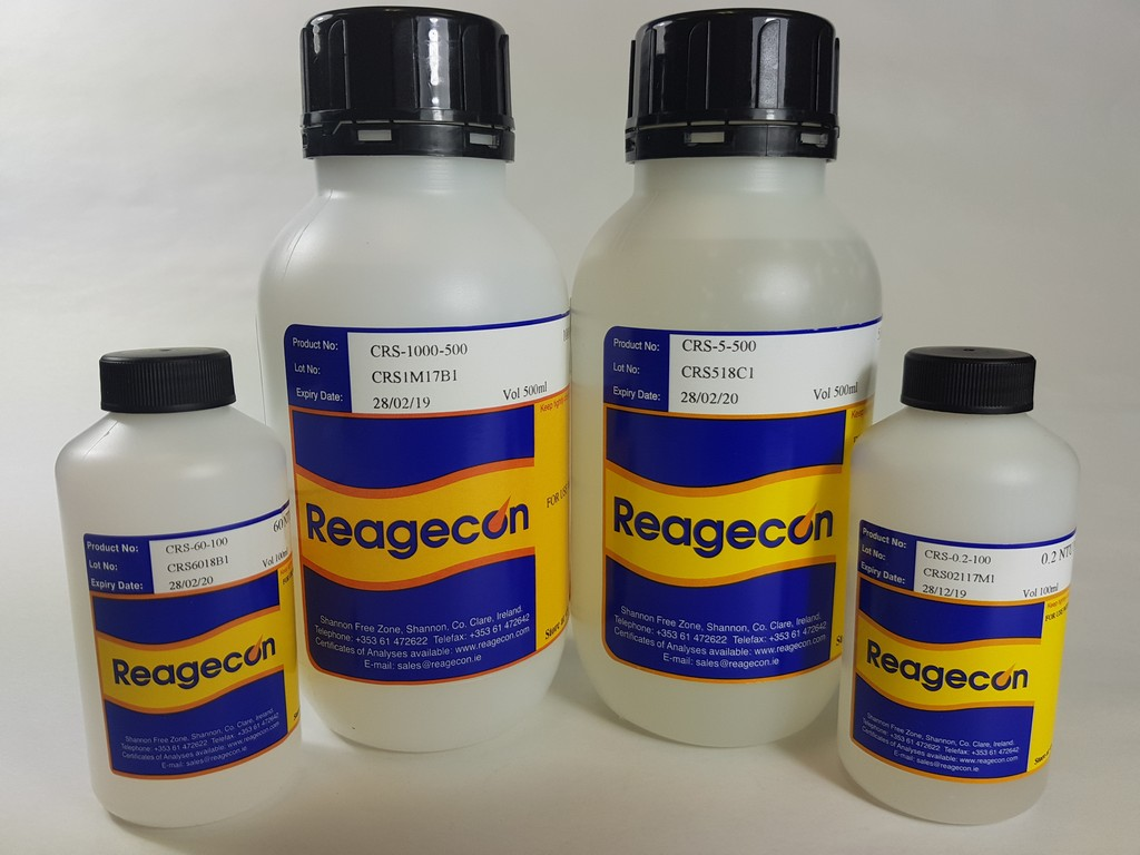 Reagecon 0.4 NTU Non Ratio Turbidity Standard