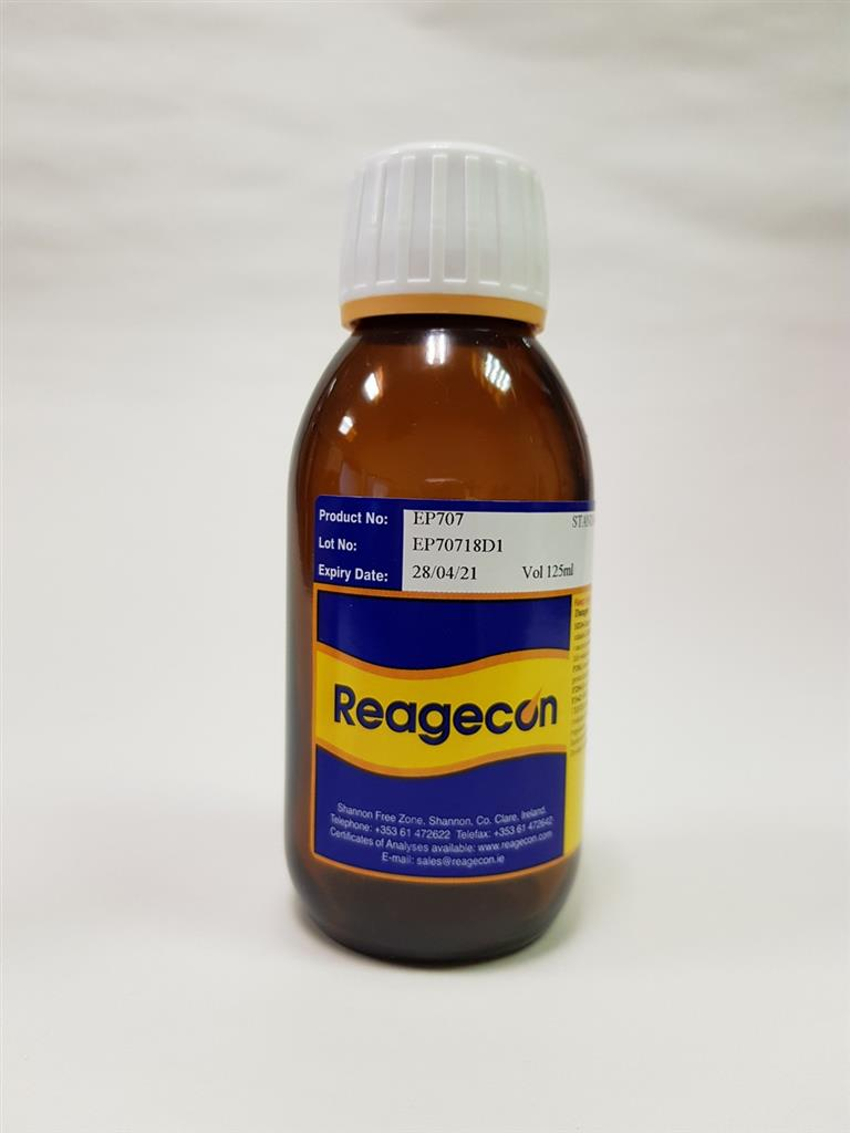 Reagecon Standard Colour Solution R (Red) according to European Pharmacopoeia (EP) Chapter 2