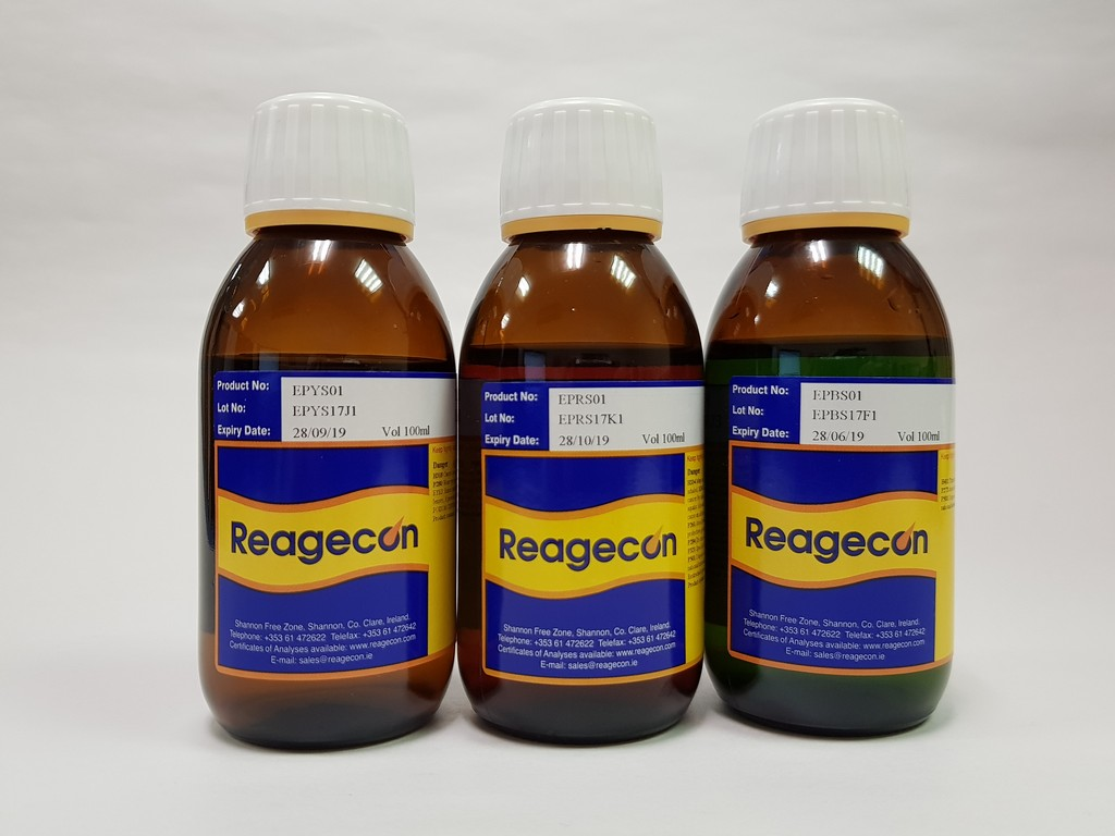 Reagecon Blue Primary Colour Solution according to European Pharmacopoeia (EP) Chapter 2