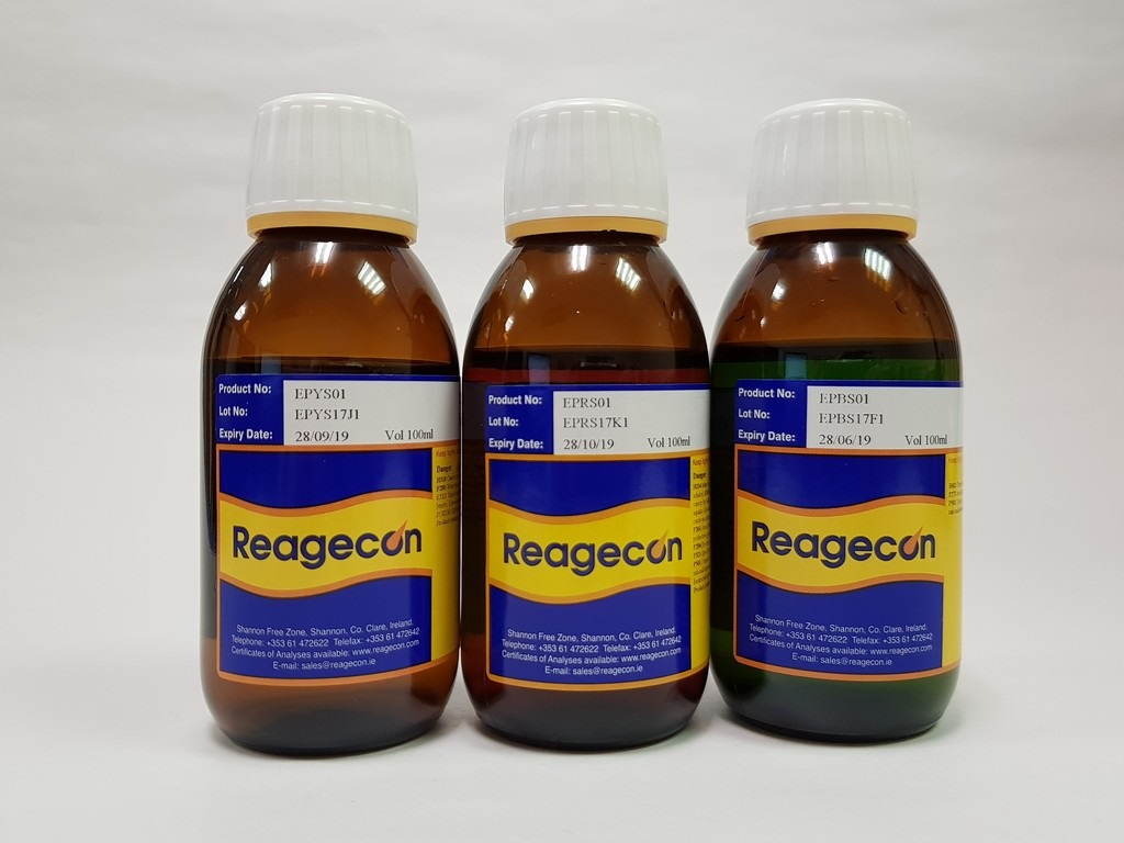 Reagecon BY1 Colour Reference Solution according to European Pharmacopoeia (EP)