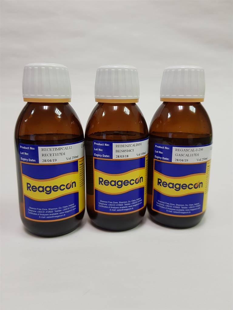 Reagecon Gasoline Calibration Standard (3 Compound Mix) in Benzene