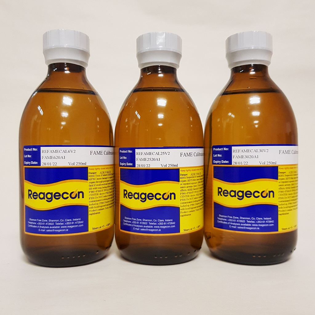 Reagecon Fatty Acid Methyl Ester (FAME) Calibration Standard 0.5% in Cyclohexane