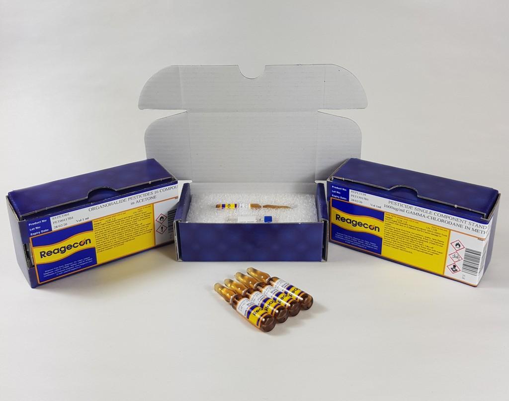 Reagecon Pesticide Single Compound Standard Terbufos 1000 µg/mL in Purge & Trap Methanol
