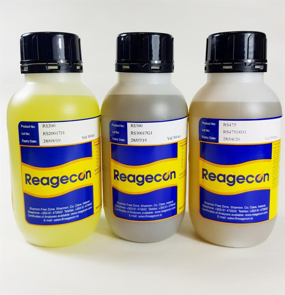 Reagecon 650 mV Redox Oxidation/Reduction (ORP) Standard at 25°C in Bag-in-Box