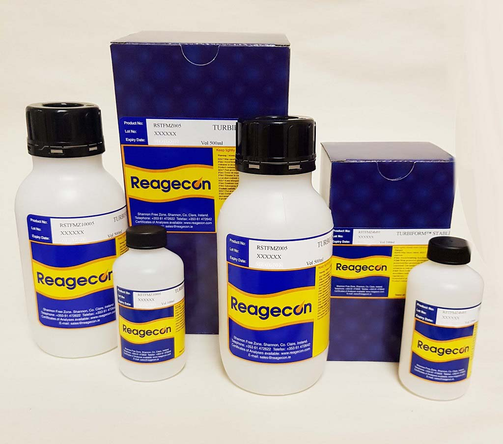 Reagecon 100 NTU Turbiform™ Stabilised Formazin Turbidity Standard