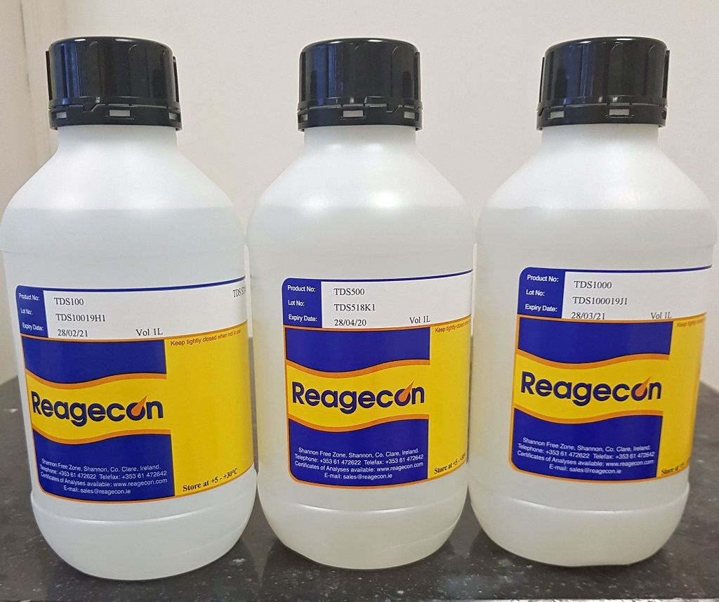 Reagecon Total Dissolved Solids (TDS) 250 mg/l Standard