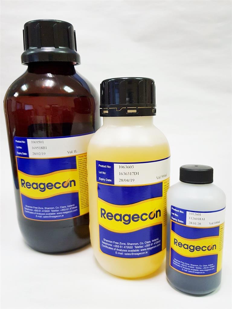 Reagecon Cupri-Tartaric Solution 1 according to European Pharmacopoeia (EP) Chapter 4 (4.1.1)