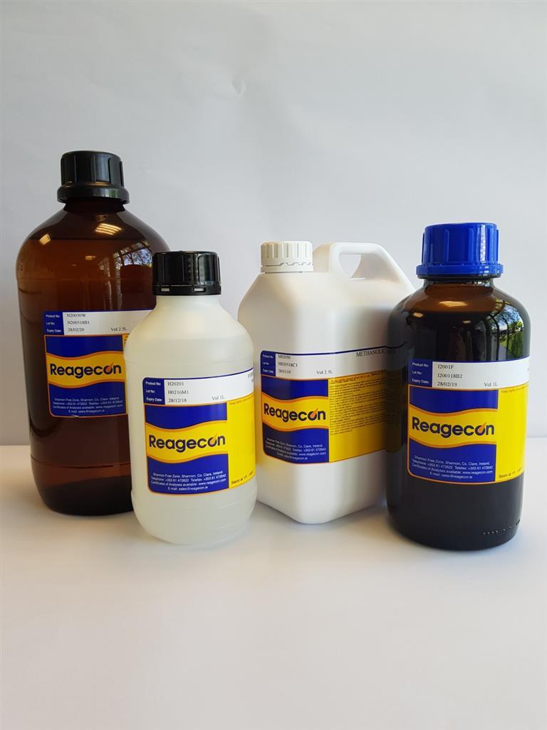 Reagecon Potassium Ferricyanide 0.1M (0.1N) Analytical Volumetric Solution (AVL)