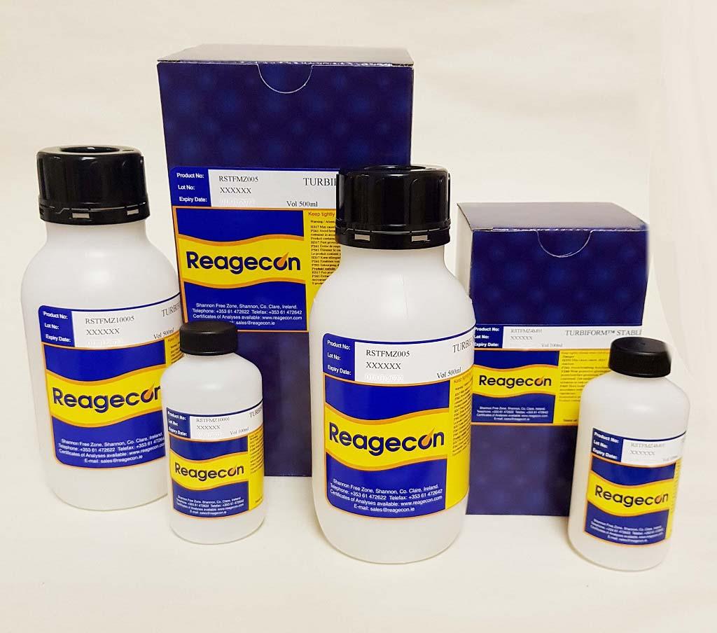 Reagecon 800 NTU Turbiform™ Stabilised Formazin Turbidity Standard