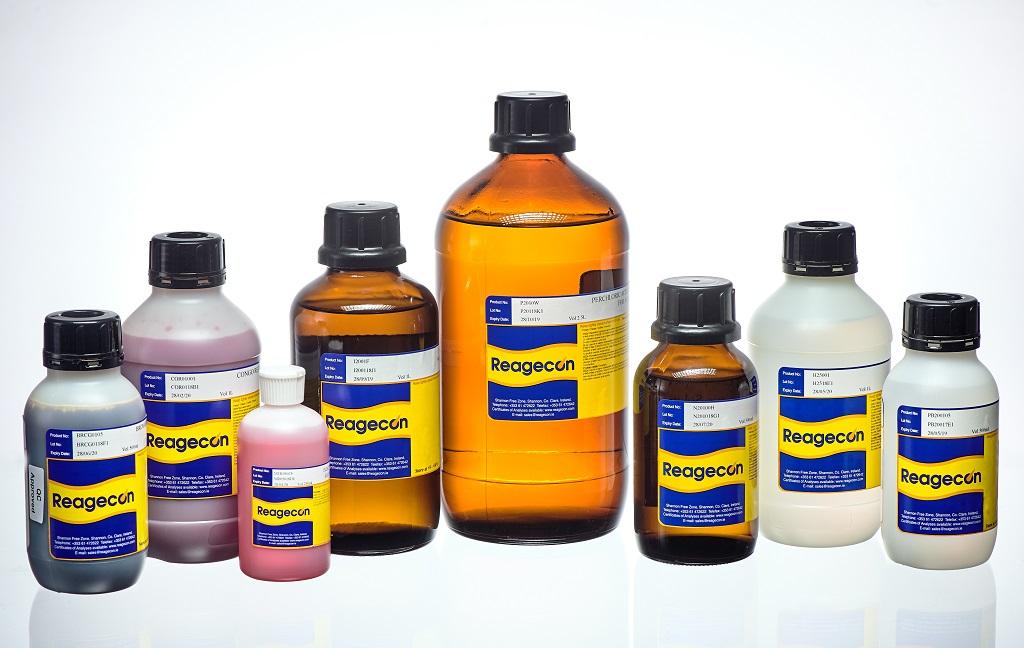 Reagecon Sodium Hydroxide 0.1M (0.1N) Analytical Volumetric Solution