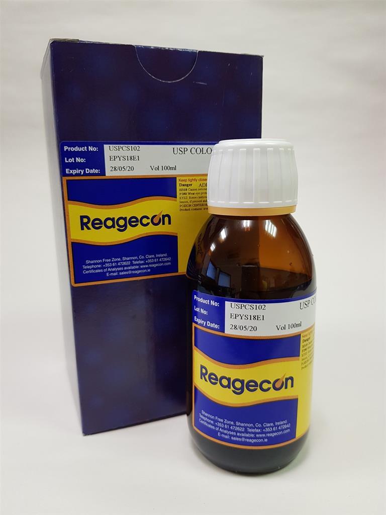Reagecon Ferric Chloride CS Colour Standard according to United States Pharmacopoeia (USP)