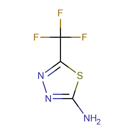 2-Amino-5-(trifluoromethyl)-1,3,4-thiadiazole