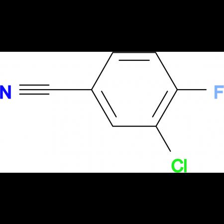 3-Chloro-4-fluorobenzonitrile
