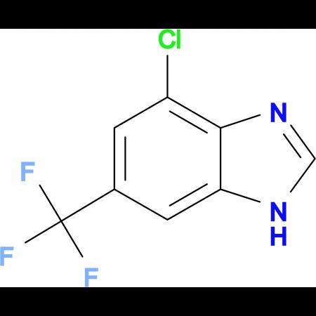 4-Chloro-6-(trifluoromethyl)benzimidazole