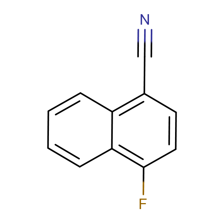 1-Cyano-4-fluoronaphthalene
