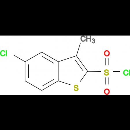 5-Chloro-3-methylbenzo[b]thiophene-2-sulfonyl chloride