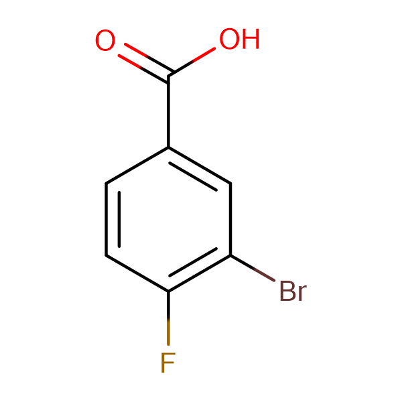 3-Bromo-4-fluorobenzoic acid