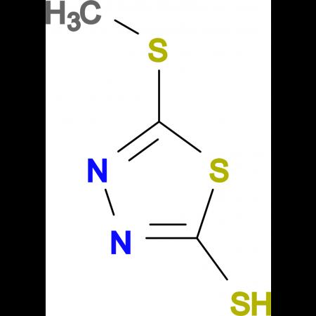 5-(Methylthio)-1,3,4-thiadiazole-2-thiol