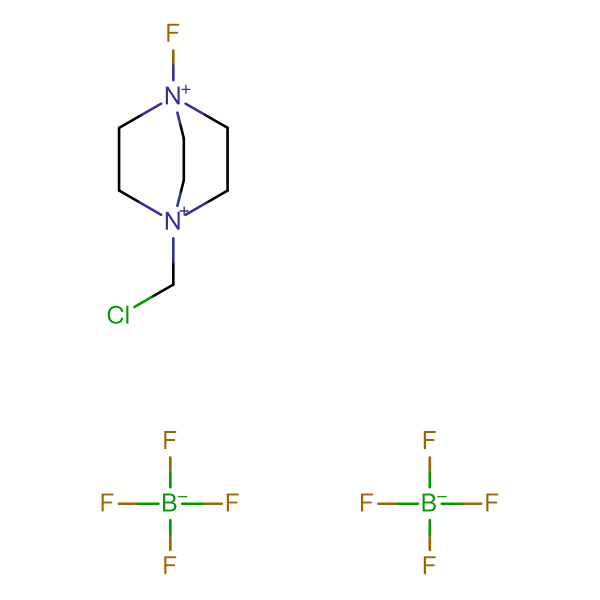N-Fluoro-N'-chloromethyltriethylenediaminebis(tetrafluoroborate) (SELECTFLUOR TM)