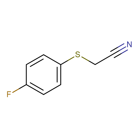 (4-Fluorophenylthio)acetonitrile