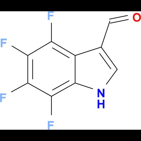 4,5,6,7-Tetrafluoroindole-3-carboxaldehyde