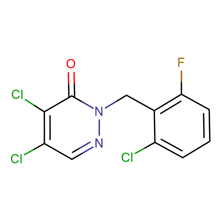 2-(2-Chloro-6-fluorobenzyl)-4,5-dichloro-pyridazine-3-(2H)-one