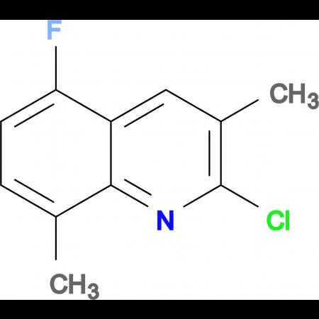 2-Chloro-5-fluoro-3,8-dimethylquinoline