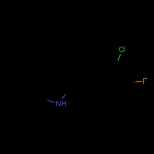 2-(3-Chloro-4-fluorophenyl)indole