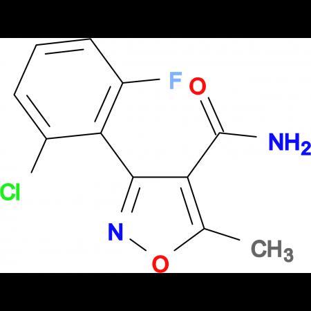 3-(2-Chloro-6-fluorophenyl)-5-methylisoxazole-4-carboxamide