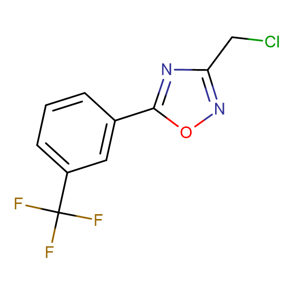 3-(Chloromethyl)-5-[3-(trifluoromethyl)phenyl]-1,2,4-oxadiazole