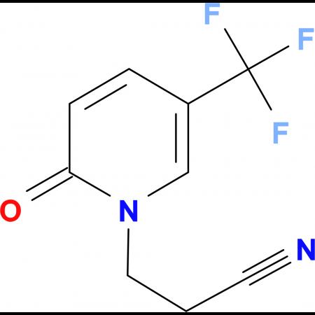 1-(2-Cyanoethyl)-5-(trifluoromethyl)pyrid-2-(1H)-one