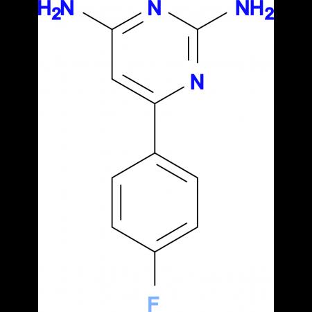 2,4-Diamino-6-(4-fluorophenyl)pyrimidine